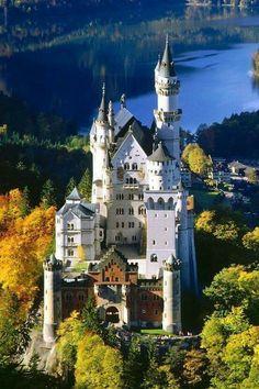 Neuschwanenstein Castle, Bavaria