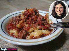 Alex Guarnaschelli: My Favorite Meat Sauce
