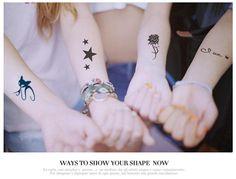 Sommer Modenschau Temporäre Tattoos Tattoo Sticker Für Körper Kunst Malerei Wasserdichte Mix