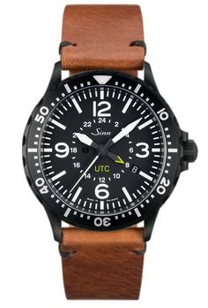 @sinnfrankfurt Watch 857 S UTC Vintage Leather #bezel-unidirectional #bracelet-strap-leather #brand-sinn #case-depth-11-8mm #case-width-43mm #delivery-timescale-2-4-weeks #dial-colour-black #gender-mens #luxury #movement-automatic #official-stockist-for-sinn-watches #packaging-sinn-watch-packaging #shipping-sinn-is-shipped-in-the-uk-only #subcat-instrument #supplier-model-no-857-020-vintage-leather #warranty-sinn-official-2-year-guarantee #water-resistant-200m