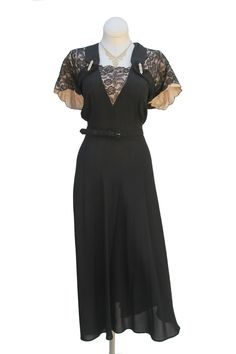 Cabaret Vintage - 1950s Black Dress, $185.00 (http://www.cabaretvintage.com/new-arrivals/1950s-black-dress/)   #vintage #cabaretvintage #toronto #queenwest #fashion #style #beauty #dress #vintagefashion #vintagestyle