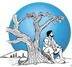 """Encontro de Jesus com Natanael Jo 1,47-51  Jesus viu Natanael que vinha ao seu encontro e declarou a respeito dele: """"Este é um verdadeiro israelita, no qual não há falsidade!"""""""