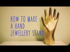 ♥ DIY Hand Jewellery Stand ♥
