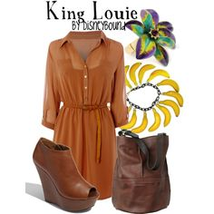 I also like this collection on lalakay.polyvore.com inspired by King Louie from the Jungle Book.