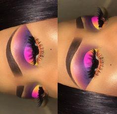 Gorgeous Makeup: Tips and Tricks With Eye Makeup and Eyeshadow – Makeup Design Ideas Dope Makeup, Baddie Makeup, Glam Makeup, Eyeshadow Makeup, Eyeliner, Eyeshadows, Makeup Brushes, Makeup For Black Skin, Black Girl Makeup