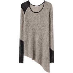 Helmut Lang Flecked Bouclé Pullover ($290) ❤ liked on Polyvore