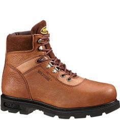 W04013 Wolverine Men's Traditional Safety Boots - Brown