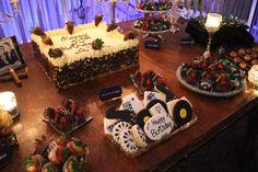 50's Birthday Party Rat Pack theme 70th Birthday Parties, 50th Birthday Party, Happy Birthday, Sweet Buffet, Dessert Bars, Rat, Shower Ideas, Party Ideas, Baby Shower