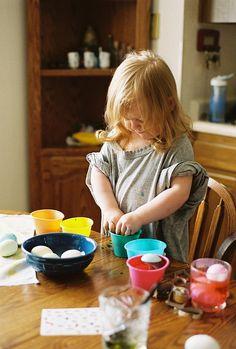 diy huevo de pascua easter eggs niños children kids miraquechulo