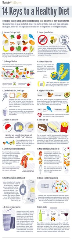 Eating healthy isn't as hard as you think! Follow these 14 key diet tips to make smart food choices & maintain a healthy diet.