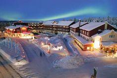Hullu Poro on suuri hotelli Lapissa Levillä. Hullu poro tunnetaan ympäri suomea. Se on hieno hotelli, missä nyt ainakin poron lihaa on tarjolla!  Tehnyt Aada