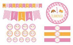 Party Kit Fattoria girl