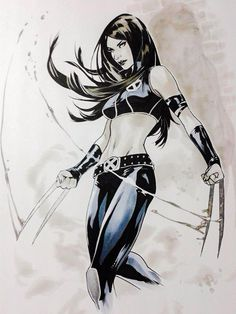 X-23 by Emanuela Luppachino #XMen #Mutants #XForce