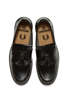 Fred Perry - Fred Perry x George Cox Tassel Loafer Black