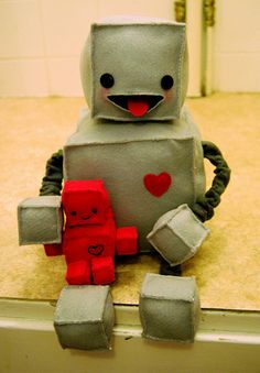 felt robot