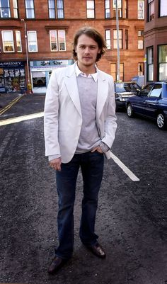 Sam on the set of River City - In pictures: Hunky photos of Scottish Outlander star Sam Heughan - Scotland Now - click to see a lot more photos