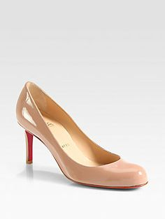 Christian Louboutin Simple 70MM Patent Leather Pumps