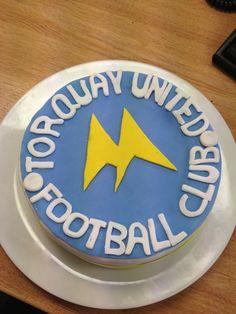 Torquay United cake