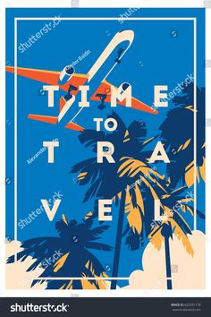 Find Time Travel Summer Holiday Poster stock images in HD and millions of other royalty-free stock photos, illustrations and vectors in the Shutterstock collection. Creative Flyer Design, Creative Flyers, Beach Illustration, Summer Poster, Beach Reading, First Novel, Time Travel, Summer Travel, Holiday Photos