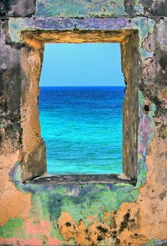 view at sea