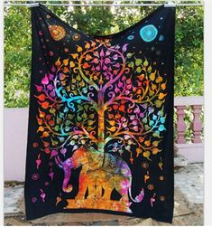 Mandala Tapestry Polyester Wall Tapestry Indian Elephant Tapestry Lotus Yoga Mat Home Decor Carpet toalla mandalas playa Tree Of Life Tapestry, Bohemian Wall Tapestry, Tapestry Beach, Indian Tapestry, Tapestry Wall Hanging, Bohemian Bedspread, Tapestry Floral, Hippie Bedding, Colorful Tapestry
