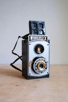 Vintage Wonderflex Toy Novelty Camera by SongbyrdVintage on Etsy