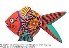 Resultado de imagen para peces artesanales mexicanos de madera