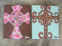 cross I have the one on the right with a lime green background :)