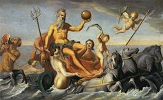 The Return of Neptune - John Singleton Copley : 1754