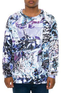 Clashist Aluminum Foil Sweatshirt