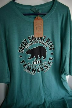 7104bb5238ec8d Ebay and Amazon and Zazzle For Sale · Great Smoky Mountains Tennessee  Gatlinburg Pigeon Forge Bear 5XL T Shirt New Tee #USVintage #