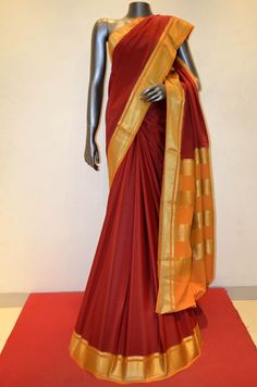 Mysore Crepe Silk Saree Product Code: AB206521 Online Shopping: http://www.janardhanasilk.com/index.php?route=product/product&search=AB206521&description=true&product_id=4085