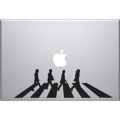 Beatles - Abbey Road Macbook Decal
