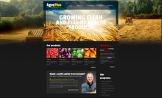 Put the emphasis on the main points of your business idea with Free Website Template with jQuery Slider for Agriculture Business! Free Website Templates, Psd Templates, Agriculture Business, Jquery Slider, Photography Marketing, Site Internet, Page Design, Sliders, Creative Design