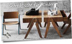 Für die kleinen tüchtigen Schreiber - Kinderschreibtisch von WeDoWood  http://www.holzdesignpur.de/kinderschreibtisch-aus-bambus-holz-geo-table-wedowood