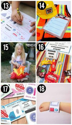 Free Pretend Play Printables for Kids