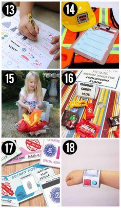 Free Pretend Play Printables for Kids