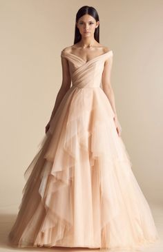 Courtesy of Allison Webb Wedding Dresses from JLM Couture; Wedding dress idea.