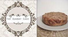 1/2 torradinha e um pingo: The Sunday Cake- Bolo de Maçã com cobertura Streus...