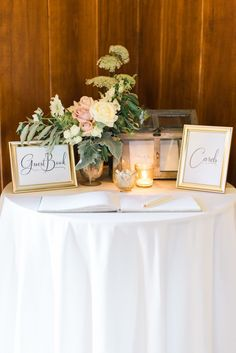 Sweet + Rustic North Carolina Wedding Guest book/cards table Source by musaadeleye Wedding Entrance Table, Entrance Table Decor, Wedding Welcome Table, Guest Book Table, Rustic Wedding Guest Book, Wedding Reception Decorations, Wedding Favors, Wedding Book, Guest Books