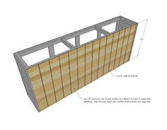 Use one of these free DIY TV stand plans for your own entertainment center for your flatscreen TV. All plans include complete building instructions. Barn Door Cabinet, Barn Door Tv Stand, Barn Door Console, Diy Barn Door, Barn Doors, Diy Furniture Building, Diy Furniture Plans, Tv Furniture, Outdoor Furniture