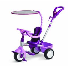 "Little Tikes Tricycle - Purple/Lavender - Little Tikes - Toys ""R"" Us Babies R Us, Baby Kids, Baby Baby, Toddler Toys, Kids Toys, Toddler Stuff, Kids Trike, Storage Buckets, Little Tikes"