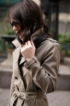 A Little Bit etc.: Trench Coats For Spring