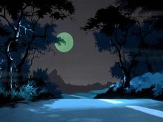 SECRET FUN BLOG: 50 SCOOBY-DOO BACKGROUND PAINTINGS
