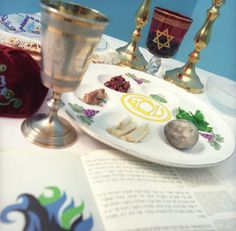 Our family has a Christian Seder meal each good friday after going to our church's Tenebre service.