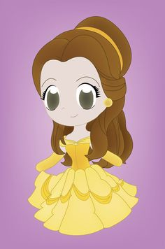 Chibi Jasmine | Para fechar o post de hoje, temos a pequena sereia. Digo, pequena ...