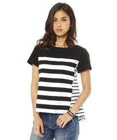 BARNYARDSTORM WOMEN(バンヤードストーム ウィメンズ)のBARNYARDSTORM / ボックスタックプルオーバー(Tシャツ/カットソー)|ブラック
