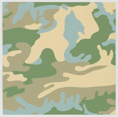 Andy Warhol (American, 1928–1987) Untitled from Camouflage, 1987http://decdesignecasa.blogspot.it