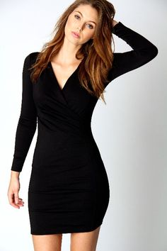 Latest Fashion Trends with Long-Sleeve Short Dresses