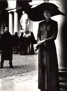 By Helmut Newton, March 1997, Vogue Italia.